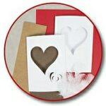 Grußkarten zum Muttertag mit Herzen